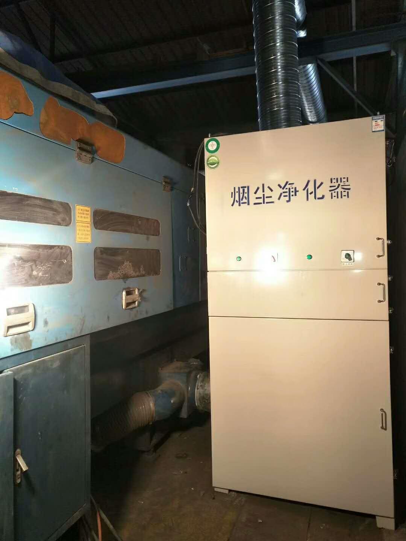中山脉冲滤筒除尘器安装工程