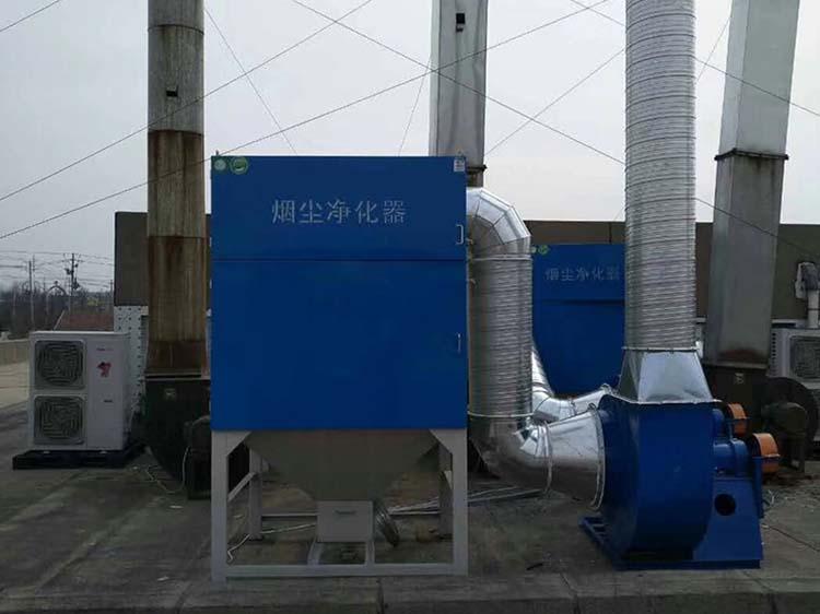 江门脉冲滤筒除尘器安装工程