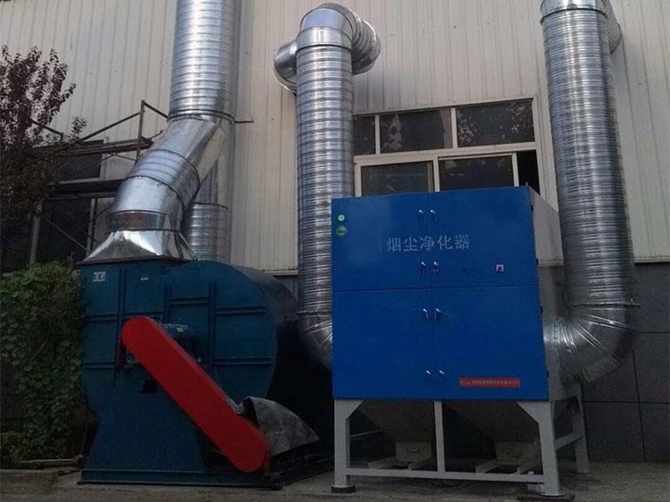 济南脉冲滤筒除尘器安装工程